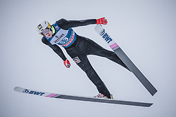 31.12.2018, Olympiaschanze, Garmisch Partenkirchen, GER, FIS Weltcup Skisprung, Vierschanzentournee, Garmisch Partenkirchen, Qualifikation, im Bild Evgeniy Klimov (RUS) // Evgeniy Klimov of Russian Federation during the qualifying for the Four Hills Tournament of FIS Ski Jumping World Cup at the Olympiaschanze in Garmisch Partenkirchen, Germany on 2018/12/31. EXPA Pictures © 2018, PhotoCredit: EXPA/ Stefanie Oberhauser