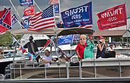 Trump Boat Parade in Madisonville, LA