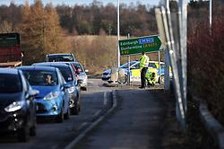 Police RTC on the A92<br /> <br /> Police block the Cowdenbeath slip<br /> <br /> (c) David Wardle | Edinburgh Elite media