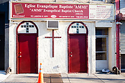 "Eglise Evangelique Baptiste ""AMMI"" / ""Ammi"" Evangelical Baptist Church, 1799 Flatbush Avenue, Brooklyn."