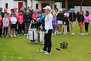 Stephanie Meadow (NIR)at the Golf4Girls4Life festival at the ISPS Handa World Invitational, Galgorm Castle Golf Club, Ballymena, Antrim, Northern Ireland. 14/08/2019.<br /> Picture Fran Caffrey / Golffile.ie<br /> <br /> All photo usage must carry mandatory copyright credit (© Golffile   Fran Caffrey)