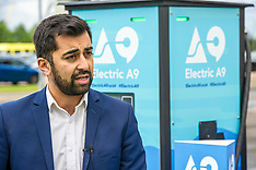 Electric A9 Branding unveiled, Falkirk, 20 June 2018
