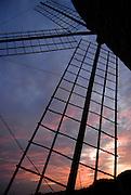 Old Windmill at sunset, Sant Francesc, Formentera