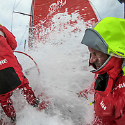Leg 3, Cape Town to Melbourne, day 09, on board MAPFRE. Photo by Jen Edney/Volvo Ocean Race. 18 December, 2017.