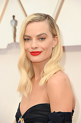 Margot Robbie at the 92nd Academy Awards held at the Dolby Theatre in Hollywood, USA on February 9, 2020.