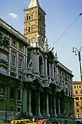 Basilica of Saint Mary Major or church of Santa Maria Maggiore, Rome, Italy in 1974