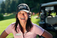 Faith is an enthusiastic member of the guest services team at the Whistler Golf Course.