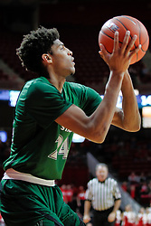 NORMAL, IL - December 16: Dibaji Walker during a college basketball game between the ISU Redbirds and the Cleveland State Vikings on December 16 2018 at Redbird Arena in Normal, IL. (Photo by Alan Look)