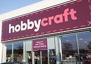 Hobbycraft store shop, Martlesham, near Ipswich, Suffolk, England, UK