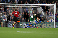 Football - 2018 / 2019 Premier League - Southampton vs. Brighton and Hove Albion<br /> <br /> Glenn Murray of Brighton equalises late on from the penalty spot to rescue a point for Brighton at St Mary's Stadium Southampton<br /> <br /> COLORSPORT/SHAUN BOGGUST