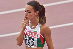 23-08-2015 CHN: IAAF World Championships Athletics day 2, Beijing<br /> Ivet LALOVA-COLLIO BUL<br /> Photo by Ronald Hoogendoorn / Sportida