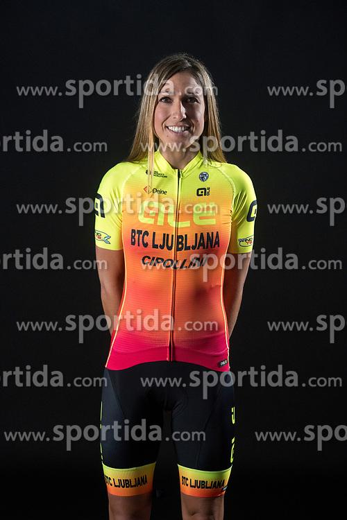 Margarita Victoria Garcia of Alé BTC Ljubljana, professional women cycling team, on November 15, 2019 in Ljubljana, Slovenia. Photo by Sportida
