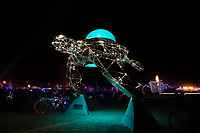 Cosmic Voyager by: Martin Taylor and The Chromaforms Collective from: San Francisco, CA year: 2018