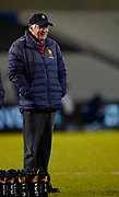 Worcester Warriors Director of Rugby Alan Solomons before the Gallagher Premiership match Sale Sharks -V- Worcester Warriors at The AJ Bell Stadium, Greater Manchester,England United Kingdom, Friday, January 08, 2021. (Steve Flynn/Image of Sport)