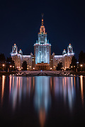 Moscow State University reflected.