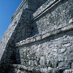 Tulum, Mexico.Mayan Ruins.  Yucatan Peninsula.