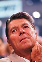 Portrait of Ronald Reagan in 1980