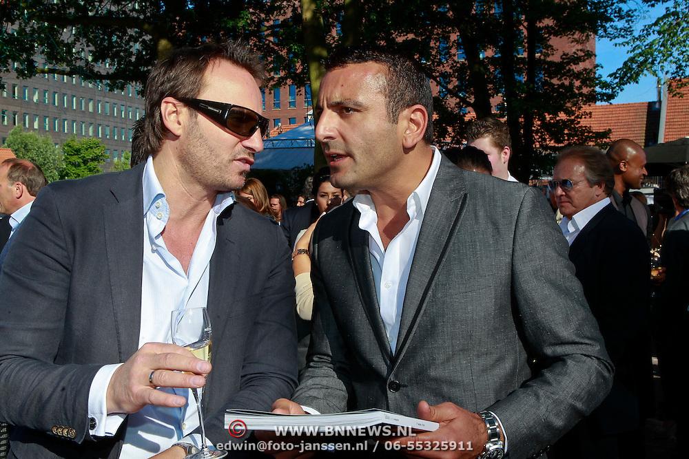 NLD/Rijswijk/20110601 - Uitreiking Talkies Terras Award 2011, tamar Gonen en .............