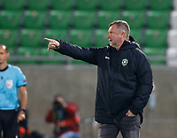 RAZGRAD, BULGARIA - OCTOBER 22: Head Coach Pavel Vrba of Ludogorets gestures during the UEFA Europa League Group J stage match between PFC Ludogorets Razgrad and Royal Antwerp at Ludogorets Arena on October 22, 2020 in Razgrad, Bulgaria. (Photo by Nikola Krstic/MB Media)