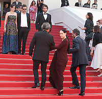at the gala screening for the film Aquarius at the 69th Cannes Film Festival, Tuesday 17th May 2016, Cannes, France. Photography: Doreen Kennedy