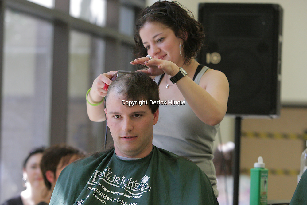 18 March 2009:  during the second annual St. Baldrick's children's cancer charity fund raiser held at Tulane Medical Center in New Orleans, Louisiana.