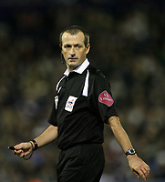 Photo: Rich Eaton.<br /> <br /> West Bromwich Albion v Arsenal. Carling Cup. 24/10/2006. referee Mr Atkinson who awarded Arsenal a first half penalty