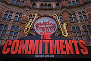 Roddy Doyle's The Commitments at London's Palace Theatre at Cambridge Circus.