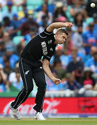 New Zealand's Tim Southee during the ICC Cricket World Cup Warm up match at The Oval, London.