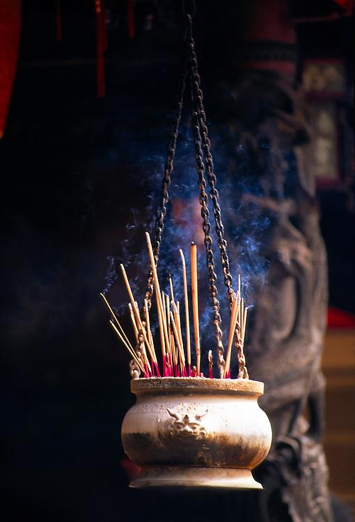Incense (joss sticks), Thian Hock Keng Temple, Singapore