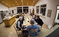 Alftroo Guesthouse - Winter in  Iceland. ©2019 Karen Bobotas Photographer