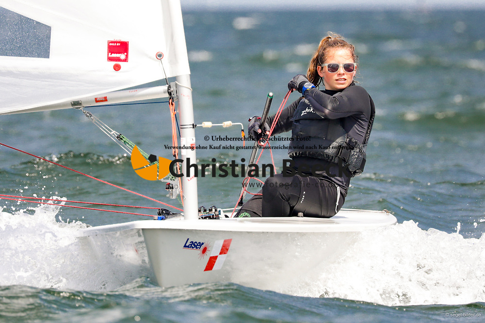 , Travemünder Woche 19. - 28.07.2019, Laser 4.7 - GER 207968 - Lena ABENDROTH - Segelclub Prinzensteg e. V. Josef Grewe