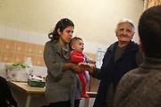 Centre d'accueil de demandeurs d'asile a Miribel, Ain.  Welcoming center for asylum seekers, in Miribel, Ain