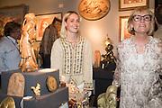 RUBY WEATHERALL; CLARA WEATHERALL, The LAPADA Art & Antiques Fair - private view, Berkeley Sq. London. 12  September 2016