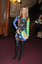 KATE WALSH attends the premier of 2012 Cirque du Soleil's Totem at the Royal Albert Hall, London on 5th January 2012,