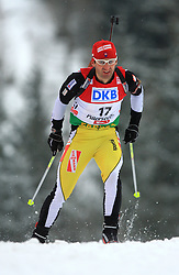 Pavol Hurajt (SVK) at Men 20 km Individual at E.ON Ruhrgas IBU World Cup Biathlon in Hochfilzen (replacement Pokljuka), on December 18, 2008, in Hochfilzen, Austria. (Photo by Vid Ponikvar / Sportida)