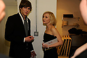 NICHOLAS HOLT; JOANNA PAGE, The Elle Style Awards 2009, The Big Sky Studios, Caledonian Road. London. February 9 2009.  *** Local Caption *** -DO NOT ARCHIVE -Copyright Photograph by Dafydd Jones. 248 Clapham Rd. London SW9 0PZ. Tel 0207 820 0771. www.dafjones.com<br /> NICHOLAS HOLT; JOANNA PAGE, The Elle Style Awards 2009, The Big Sky Studios, Caledonian Road. London. February 9 2009.
