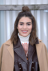 Camila Coelho attending the Chloe show as part of the Paris Fashion Week Womenswear Fall/Winter 2018/2019 in Paris, France on March 01, 2018. Photo by Aurore Marechal/ABACAPRESS.COM