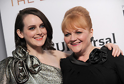 Sophie McShera and Lesley Nicol attending 'Downton Abbey: The Exhibition' Gala Reception on November 17, 2017 in New York City, NY, USA. Photo by Dennis Van Tine/ABACAPRESS.COM
