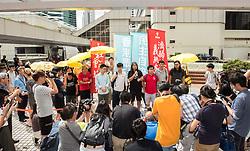 July 3, 2017 - Hong Kong, Hong Kong SAR,China - HONG KONG, CHINA - JULY 03: Joshua Wong Chi-fung,the Hong Kong student activist and secretary general of the pro-democracy party, Demosistō in court. He is in the High court for a plea hearing relating to the Umbrella revolution Occupy movement in Hong Kong in 2014.Hong Kong, Hong Kong SAR, China on July 1st, 2017. (Credit Image: © Jayne Russell via ZUMA Wire)