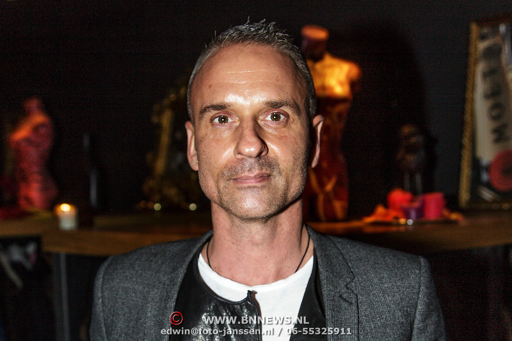 NLD/Amsterdam/20141115 - Life After Football fair 2014, Eric Kusters