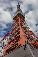Tokyo Tower stands 333 meters tall and is principally a radio tower that was built in 1958. It is illuminated at night and the colors change by season and also for special holidays and events. Though it may resemble its model, the Eiffel Tower, it stands 13 meters taller than its cousin in Paris. It stands as a symbol of Japan's postwar rebirth as a major economic power.  Tokyo Tower was the country's tallest structure until 2012 when it was surpassed by the Tokyo Skytree.<br /> Because of the tower's central location, the observatory offers an interesting view of the city despite its relatively moderate height.