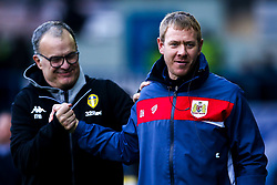 Bristol City assistant head coach Dean Holden with Leeds United manager Marcelo Bielsa - Mandatory by-line: Robbie Stephenson/JMP - 24/11/2018 - FOOTBALL - Elland Road - Leeds, England - Leeds United v Bristol City - Sky Bet Championship