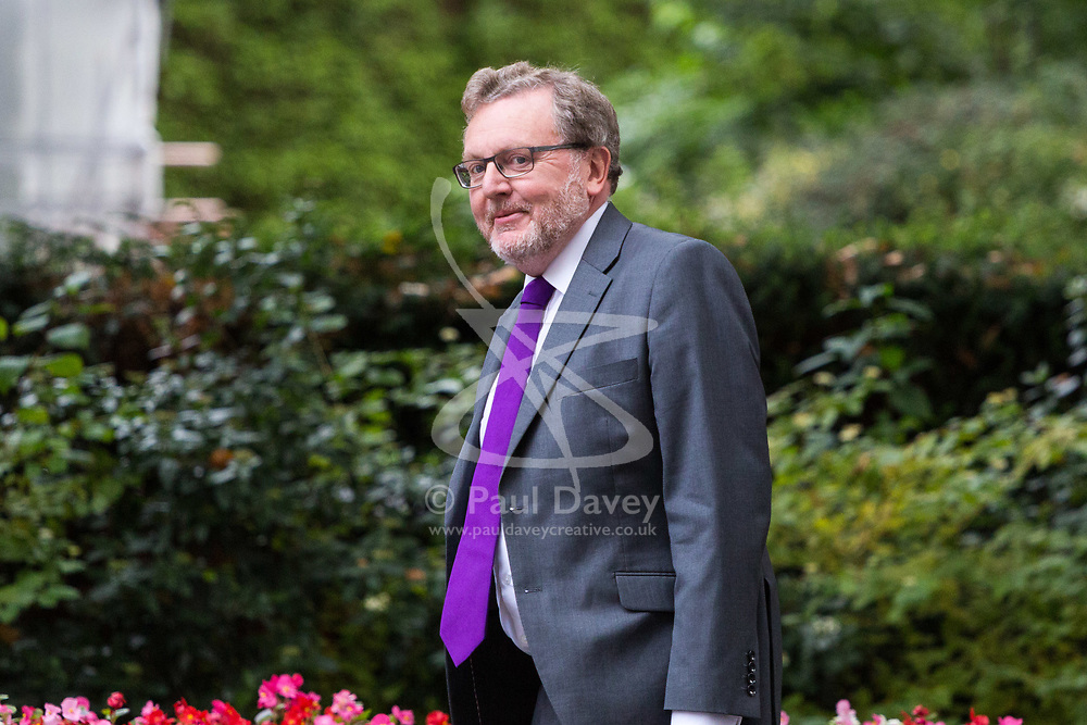 London, September 5th 2017. Scotland Secretary David Mundell attends the first UK cabinet meeting at Downing Street after the summer recess. ©Paul Davey