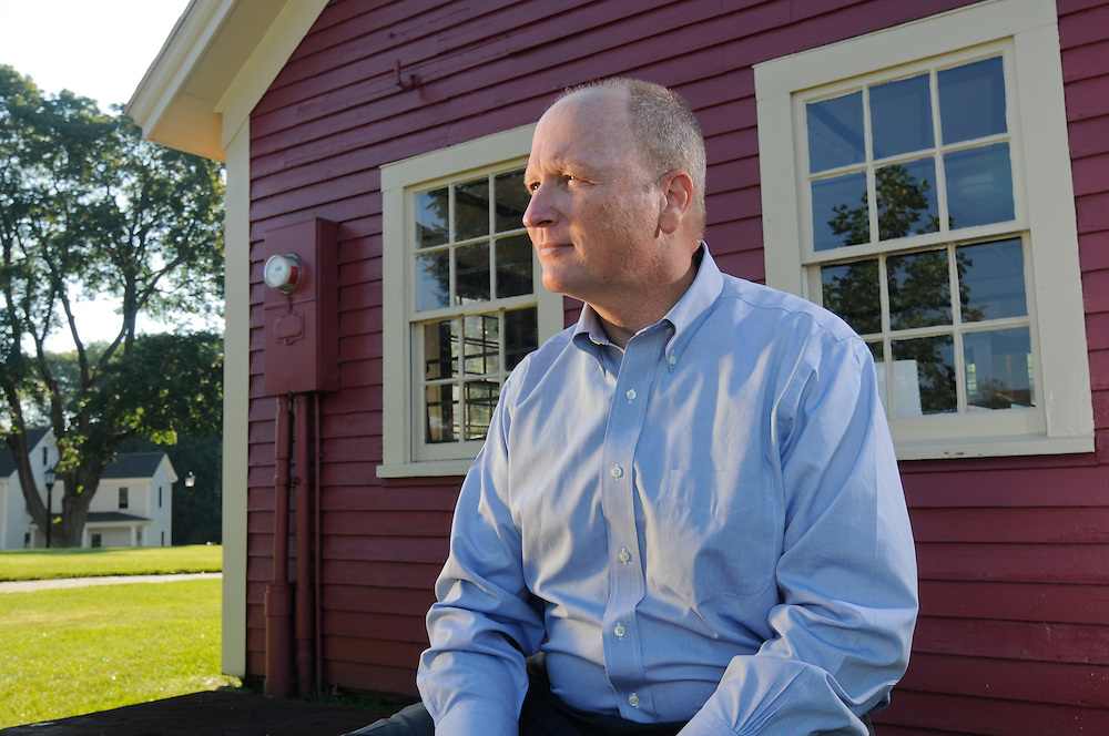 State Rep Dan Winslow photographed in Norfolk, MA.