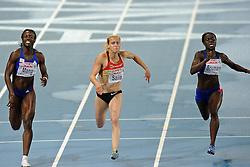 29.07.2010, Olympic Stadium, Barcelona, ESP, European Athletics Championships Barcelona 2010, im Bild Verena Sailer GER wins the 100 meter before Veronique Mang en Myriam Soumare FRA. GER EXPA Pictures © 2010, PhotoCredit: EXPA/ nph/ . Ronald Hoogendoorn+++++ ATTENTION - OUT OF GER +++++