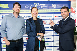 Telekom Slovenije during press conference of cycling race Tour Slovenia 2018, on May 17, 2018, in Ljubljana, Slovenia. Photo by Vid Ponikvar / Sportida