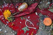 Nepal, Bhaktapur, Hindu religious Puja, offerings