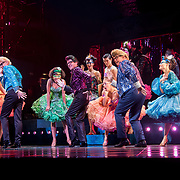 London,England, UK. 17 April 2018: Photo call - Strictly Ballroom The Musical at Piccadilly Theatre, London, UK.