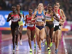 during day six of the 2017 IAAF World Championships at the London Stadium. PRESS ASSOCIATION Photo. Picture date: Wednesday August 9, 2017. See PA story ATHLETICS World. Photo credit should read: John Walton/PA Wire. RESTRICTIONS: Editorial use only. No transmission of sound or moving images and no video simulation