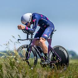 EMMEN (NED) June 16: <br />CYCLING <br />Dutch Nationals Time Trail men U23<br />Wessel Krul